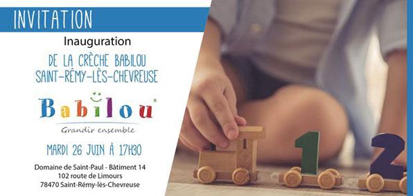 Inauguration crèche Babilou Saint-Rémy au Domaine de Saint-Paul