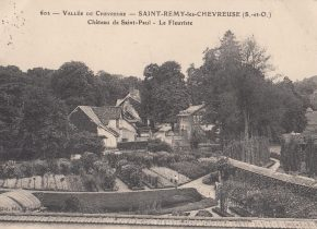 Serres et Jardin Domaine de Saint Paul, avant