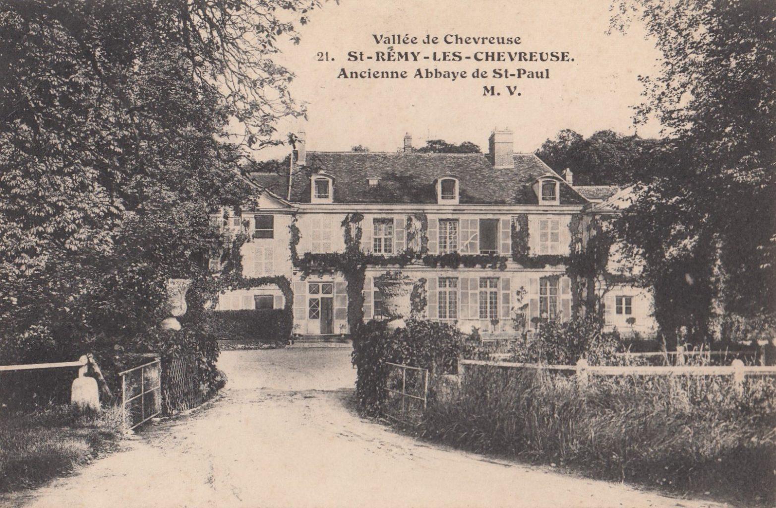 histoire du Domaine de Saint Paul le château