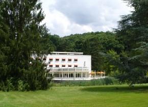 Hôtel La Rotonde Domaine Saint-Paul vue sur le parc
