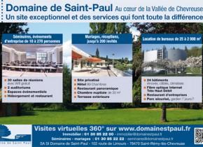 Affiche publié dans les Nouvelles Rambouillet et Versailles