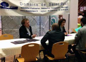 Le Domaine de Saint-Paul ecrute au Forum emploi jeunes de Saint-Rémy