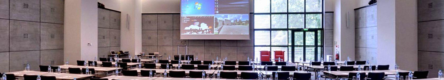Conférences - salle A1 - Domaine de Saint-Paul