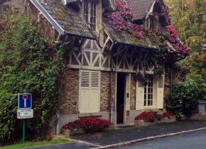 Pavillon entrée Domaine de Saint-Paul