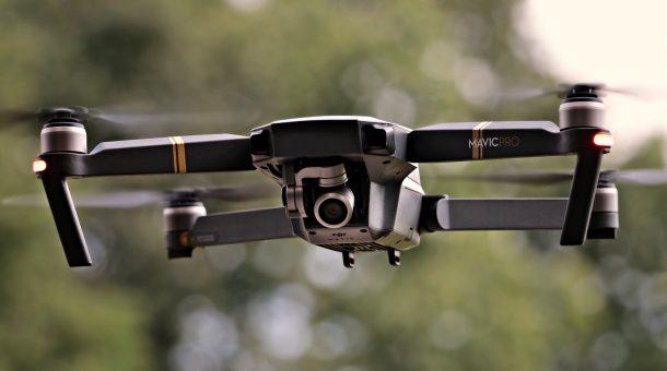 Survol du Domaine de Saint par un drone
