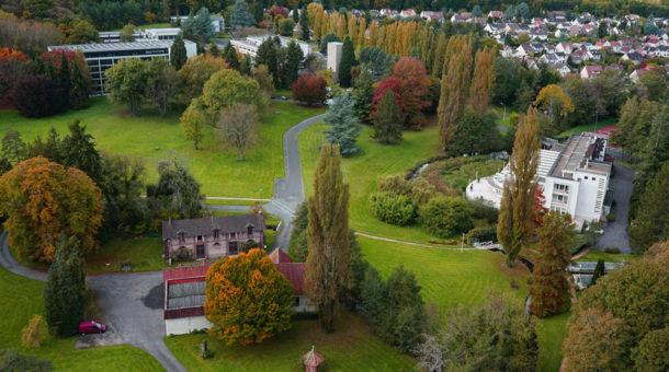 Vue aérienne Domaine de Saint-Paul drone
