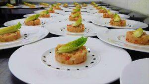 Entrée salée gastronomique - Domaine Saint Paul
