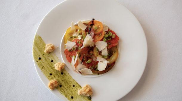 Restaurant La Rotonde - Gastronomie au Domaine Saint Paul - Plat