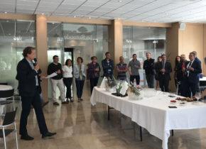 Réunion chefs d'entreprises du Domaine septembre 2018