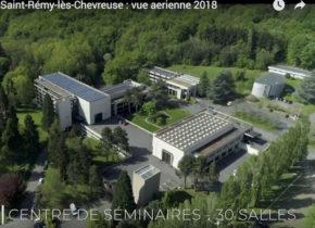 le Domaine de Saint-Paul vu d'en haut, filmé par un drone