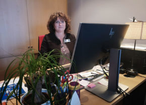 Karine, coordinatrice logistique au Domaine Saint-Paul
