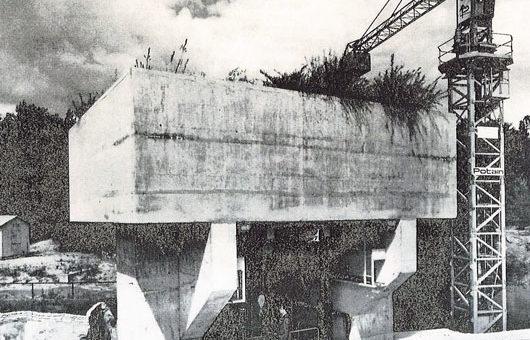 Poussée butée ancien batiment recherche mécanique des sols Domaine Saint-Paul 78470