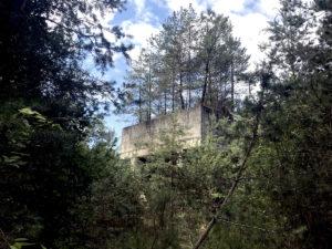 Ancien laboratoire recherche mécanique des sols, e blockhaus Domaine Saint-Paul