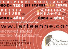 L'Arteenne, cours et créations artistiques s'installe au Domaine Saint-Paul