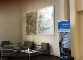 Déco Hall Séminaires- l'art au Domaine Saint-Paul