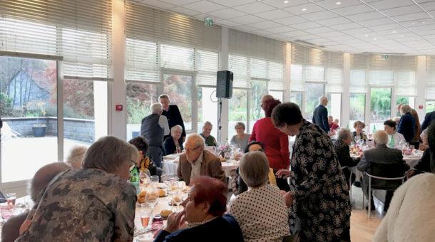 Repas des ainés de Chevreuse au Domaine Saint-Paul en decembre 2019