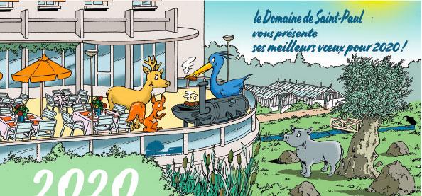 Voeux Domaine Saint-Paul 2020