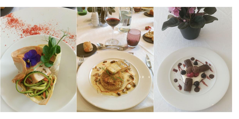 Gastronomie au restaurant La Rotonde Domaine Saint-Paul