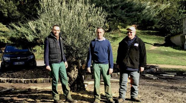équipe Espaces Verts du Domaine Saint-Paul
