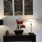 fleurs à l'hotel Domaine Saint Paul