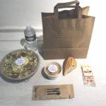 lunchbox en attendant la réouverture du restaurant Le SEPT Domaine de Saint-Paul