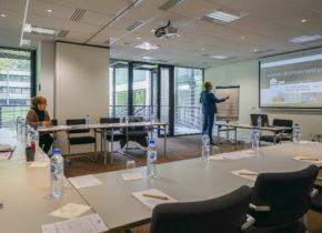 Salle réunion Covid Domaine Saint-Paul