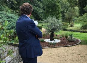 Olivier offert par les entreprises du Domaine Saint-Paul lors de l'anniversaire des 60 ans du Domaine