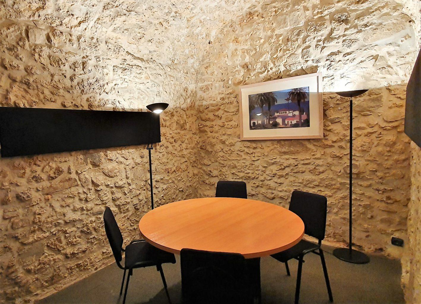 Salle de réunion espace Coworking Domaine de Saint-Paul