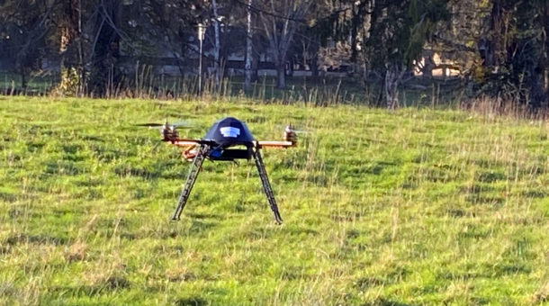 formation pilotage de drones par Flying-Eye au Domaine Saint-Paul