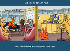 Voeux Domaine Saint-Paul 2021