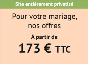 Réception, mariages Domaine Saint-Paul
